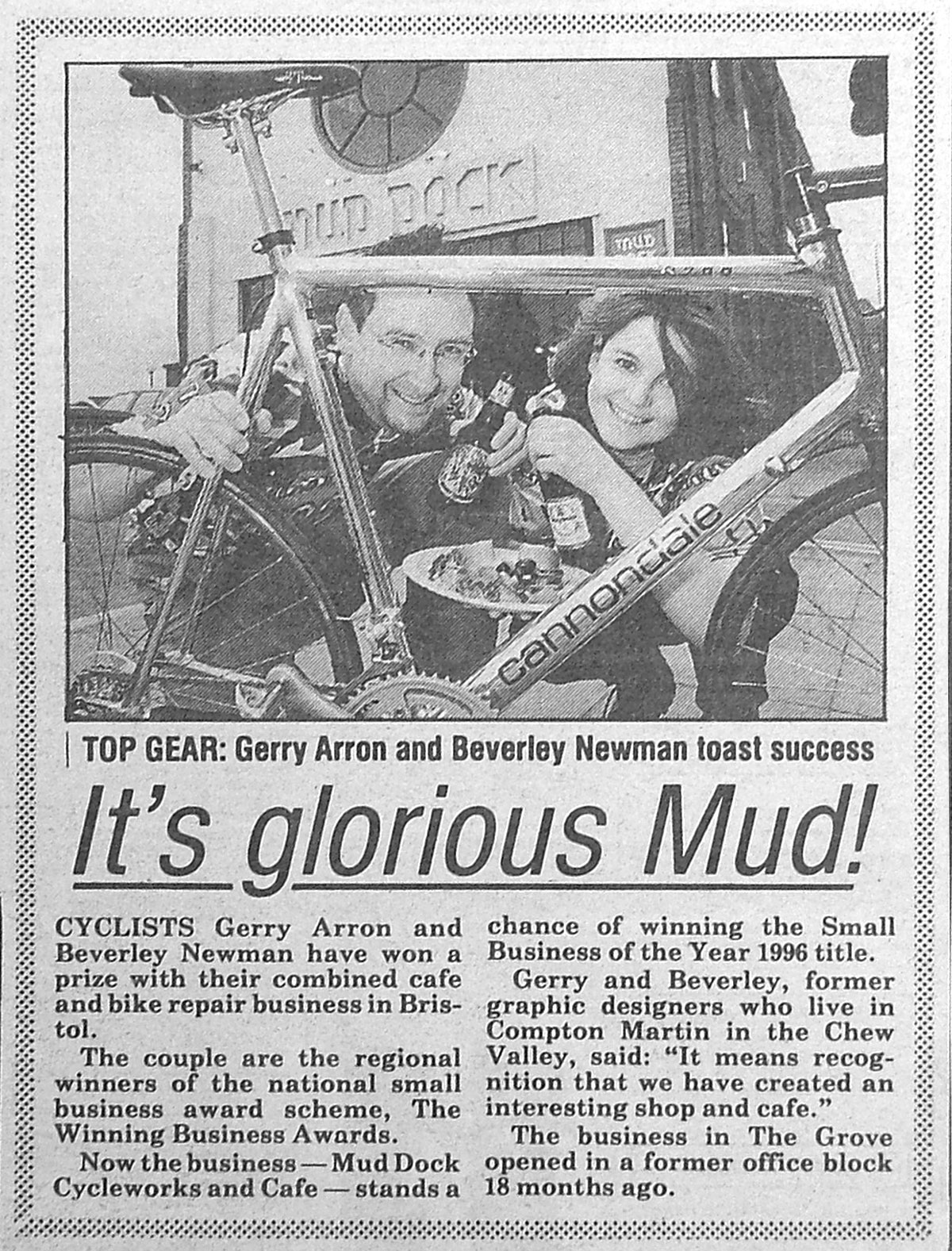 Glorious Mud article, 1995