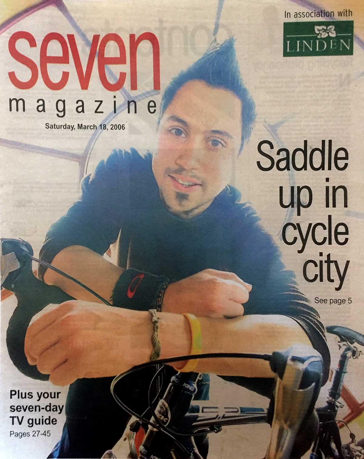 Seven magazine cover, 2006