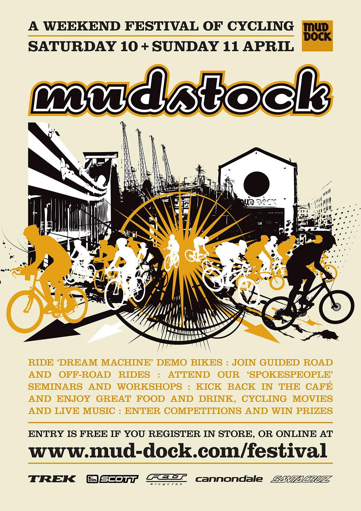 Mudstock poster, 2010