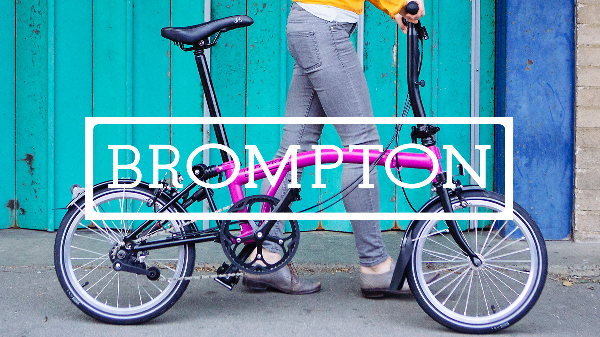 Brompton bikes at Mud Dock, Bristol