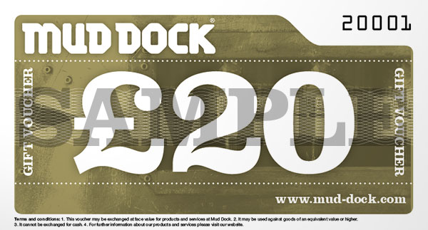 Mud Dock £20 gift voucher