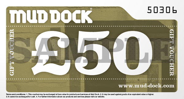Mud Dock £50 gift voucher