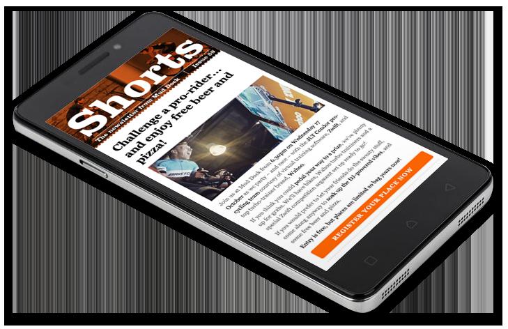 Mud Dock Shorts newsletter