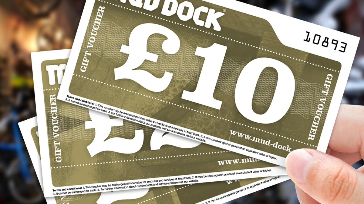 Mud Dock gift vouchers