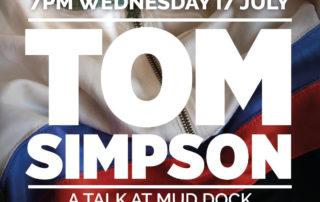 Tom Simpson talk by Chris Sidwells