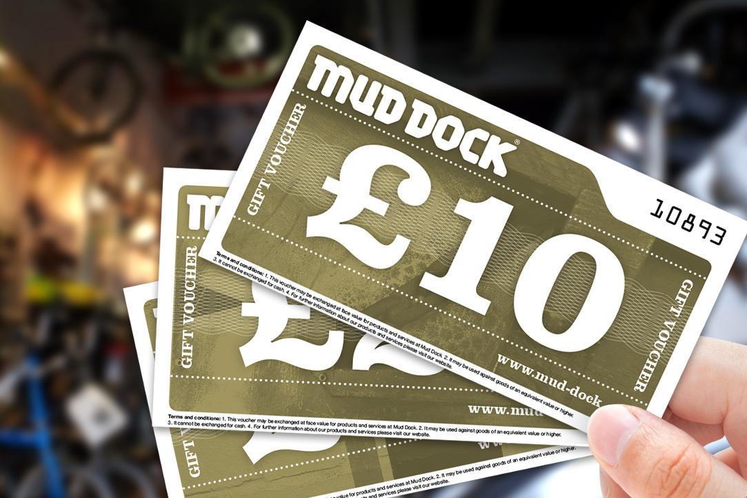 Mud Dock gift vouchers