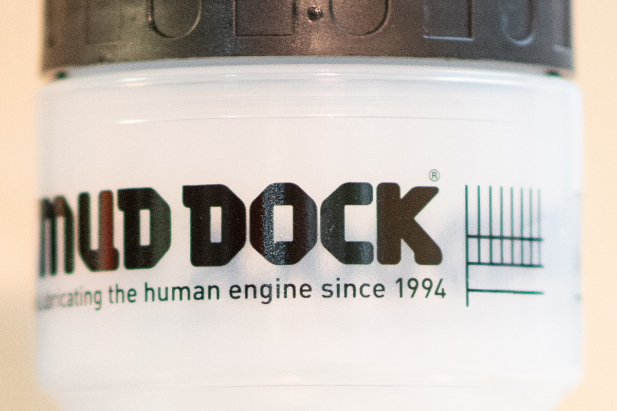 Mud Dock water bottles
