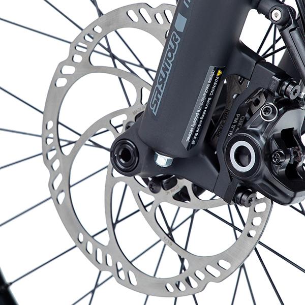 Tern HSD Magura disc brakes