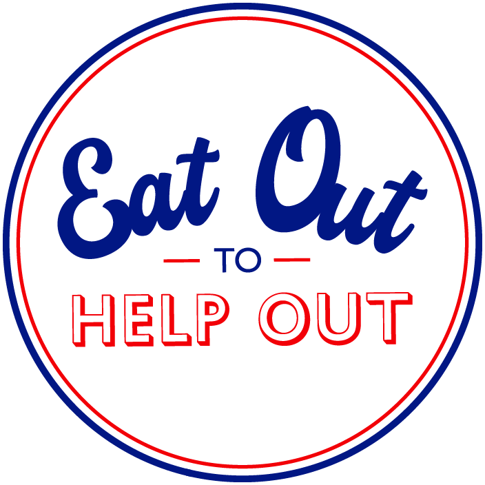 HM Government Eat Out to Help Out logo